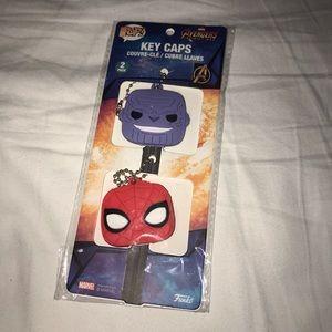 Funko Marvel Key Caps, NIB